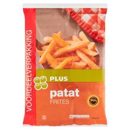 Plus Patat Frites Voordeelverpakking 2,5 kg (2.5g)