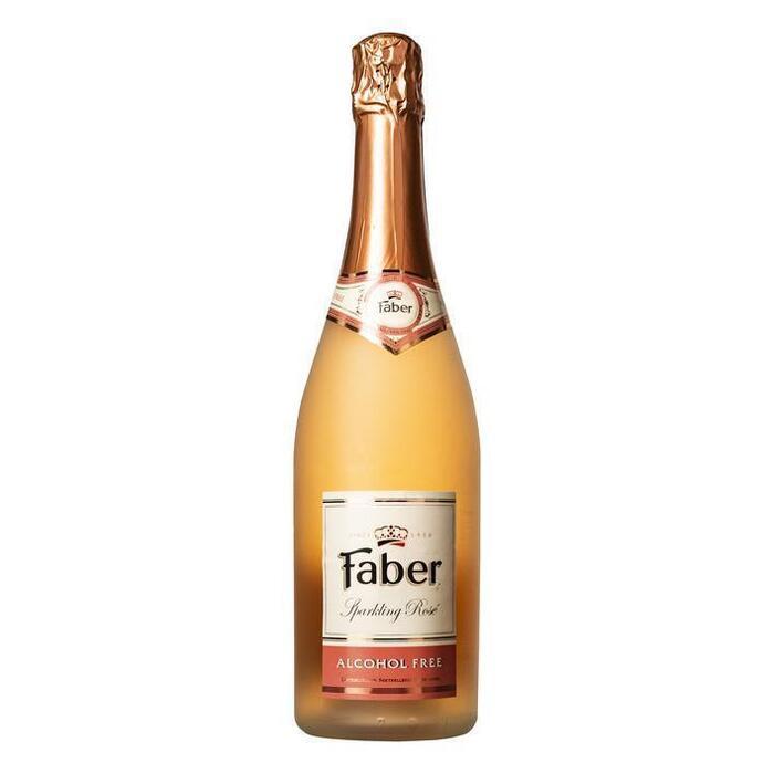 Faber Sparkling rosé alcoholvrij (0.75L)