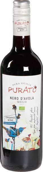 Nero D'avola Terre Siciliane, organic (glas, 0.75L)