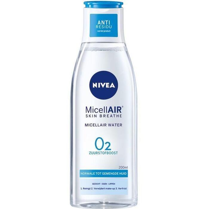 Nivea Verfrissend 3 in 1 micellair water (200ml)