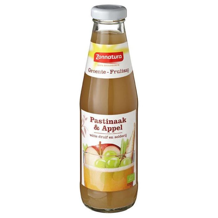 Groente - Fruitsap Pastinaak & Appel Witte Druif en Selderij (fles, 0.5L)