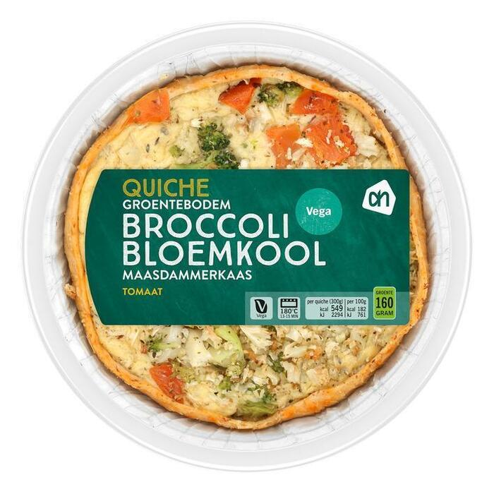 AH Groentequiche bloemkool (300g)