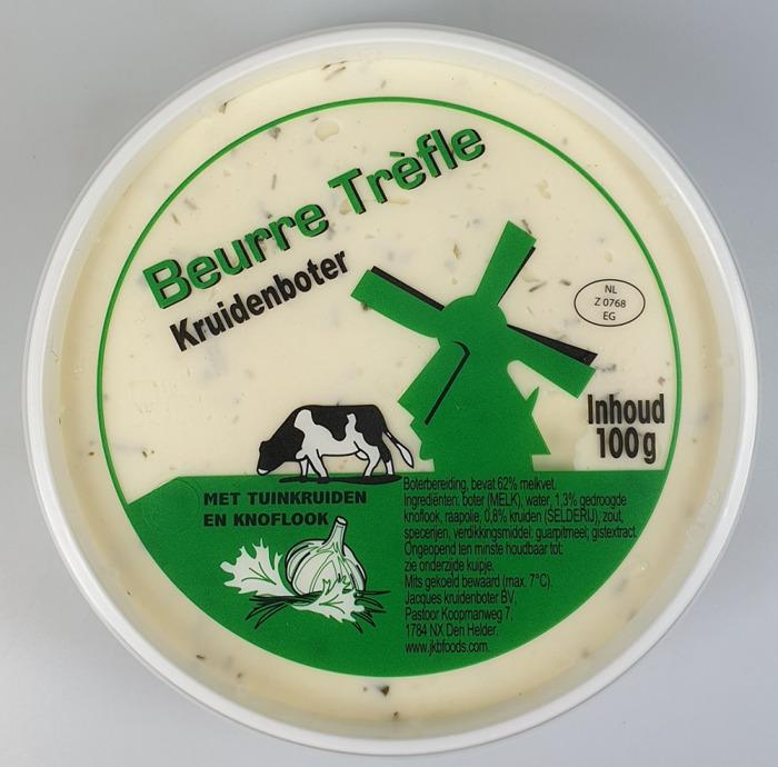 Jacques Beurre trefle (100g)