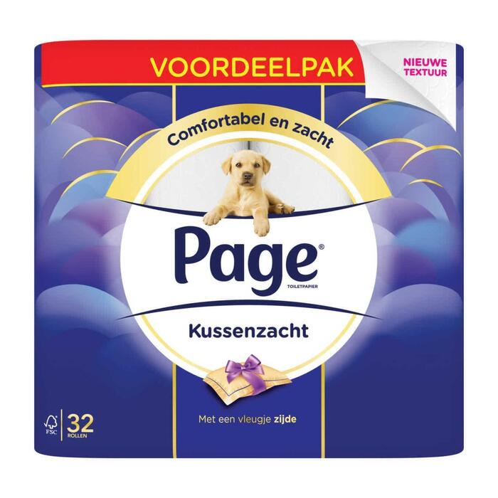 Page Kussenzacht toiletpapier (rollen)