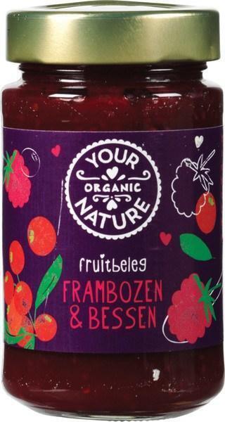 Frambozen-bessen fruitbeleg (260g)