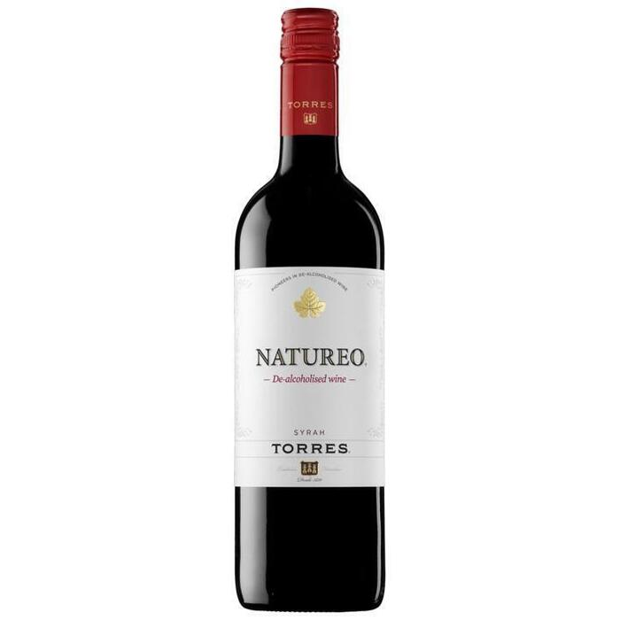 Natureo red alcoholvrij (glas, 0.75L)