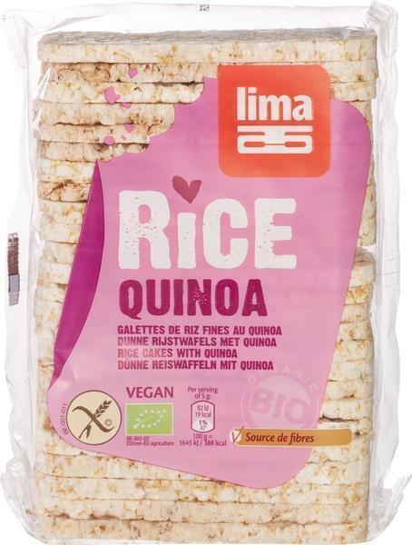 Rijstwafels met quinoa (dun) (130g)