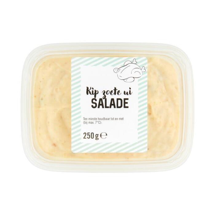Jumbo verpakte salades Kip Zoete Ui 250g beker/kuipje (250g)