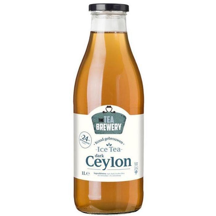 Koud gebrouwen dark ceylon tea (1L)