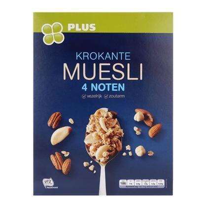 Krokante muesli 4 noten (650g)