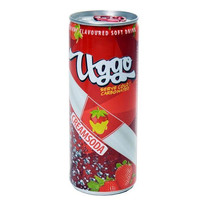 Uggo Strawberry creamsoda (250ml)