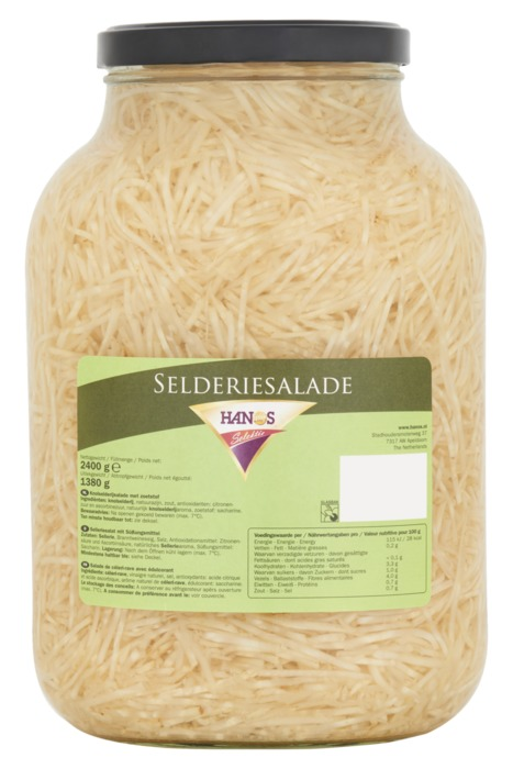 Hanos Selektie Selderiesalade 2400 g (2.4kg)