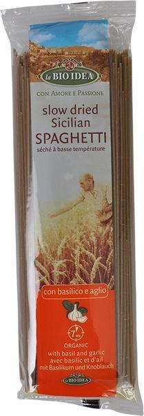 Spaghetti basilicum knoflook (500g)