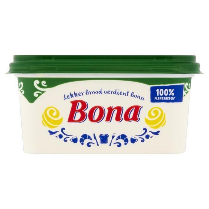 Bona Margarine voor op brood (kuipje, 500g)