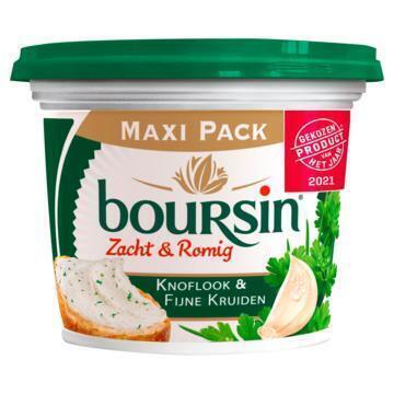 Boursin Zacht & Romig Knoflook & Fijne Kruiden Maxi Pack 210 g (210g)
