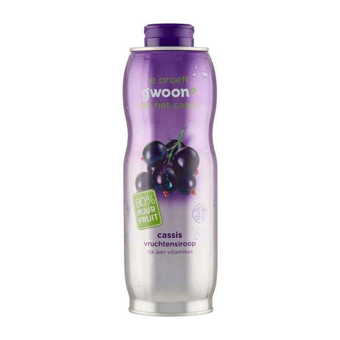SIROOP CASSIS (0.75L)