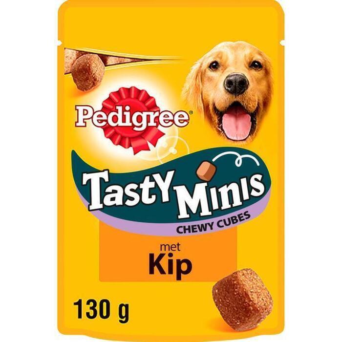 Tasty Minis Chewy Cubes met Kip (130g)