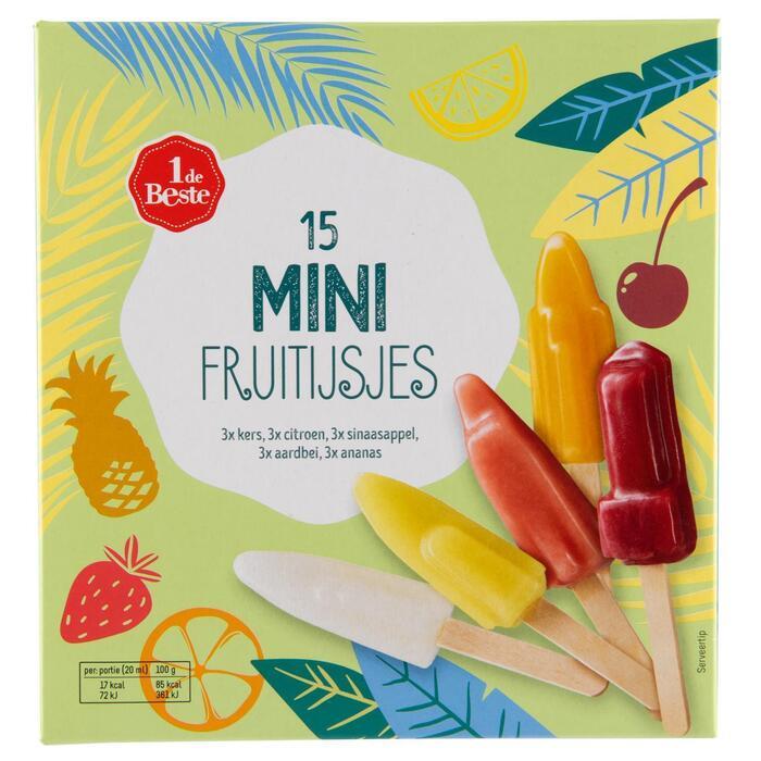 Mini fruitijsjes (358g)