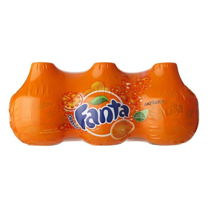 Fanta Orange PET  0.25L 1x6 Balls (6 × 250ml)