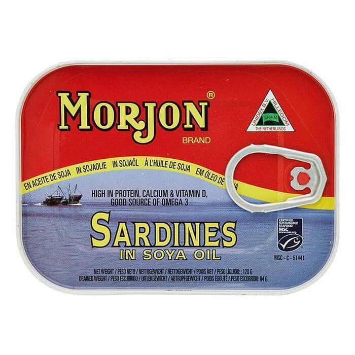 Sardines in Soja olie (Blik, 120g)