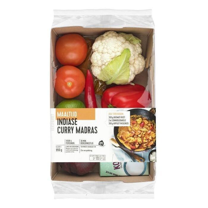 Curry Madras (bak, 950g)