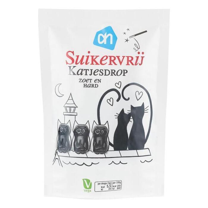 AH Katjesdrop zoet suikervrij (100g)
