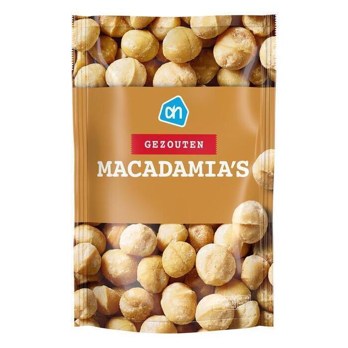 AH Macadamia gezouten (125g)