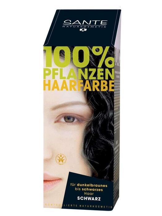Haarkleuring Zwart/Schwarz SANTE 100g (100g)