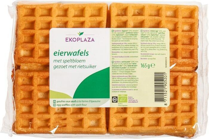 Eierwafels speltbloem (zak, 165g)