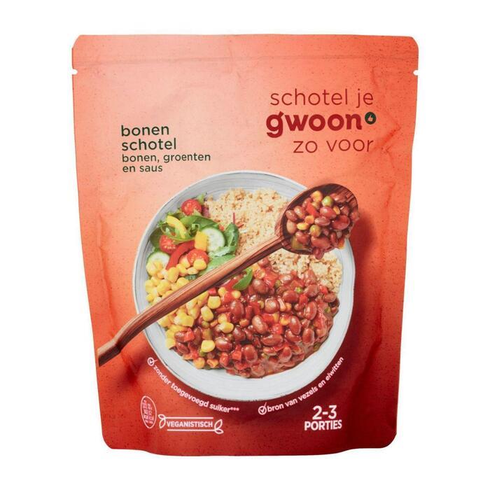 g'woon Bonenschotel (500g)