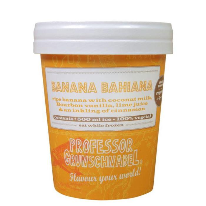 Professor Grunschnabel - Natural Vegetal Ice - Banana Bahiana (0.5L)
