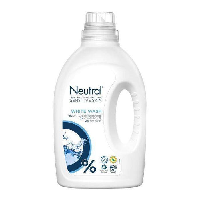 Neutral Wasmiddel Wit Parfumvrij 1L (1L)