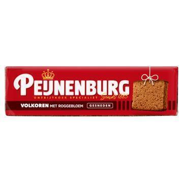 Peijnenburg Gesneden ontbijtkoek volkoren (485g)