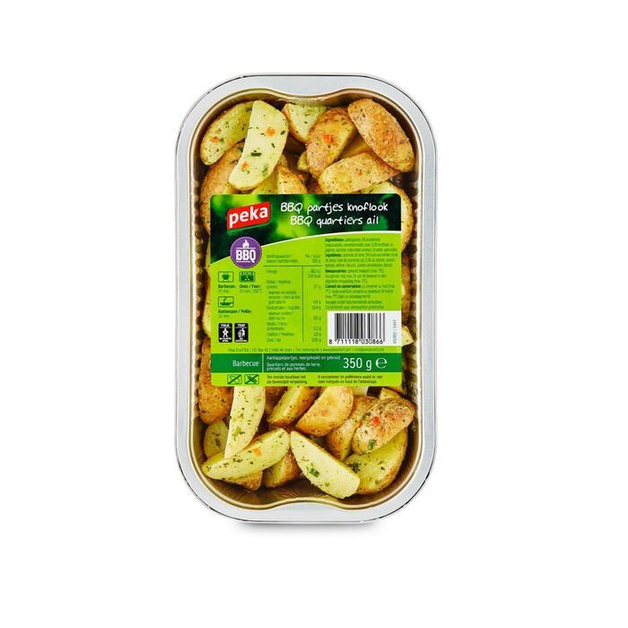 BBQ partjes knoflook (350g)