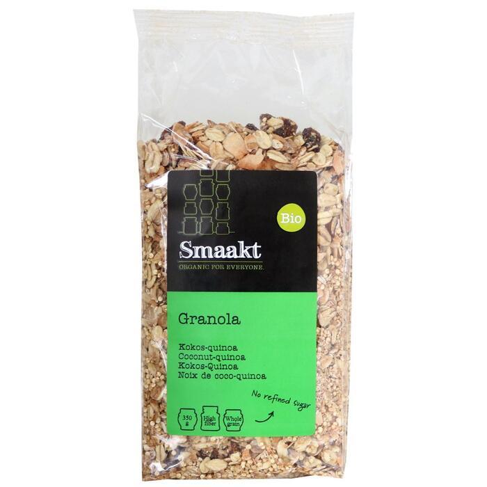 Smaakt Biologisch Granola Quinoa-Kokos 350g (350g)