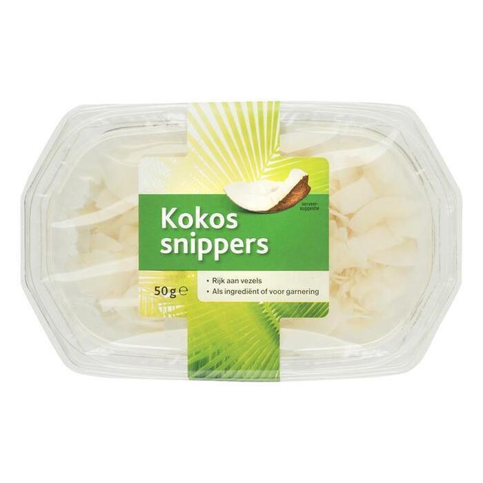 Kokos Snippers (bak, 50g)