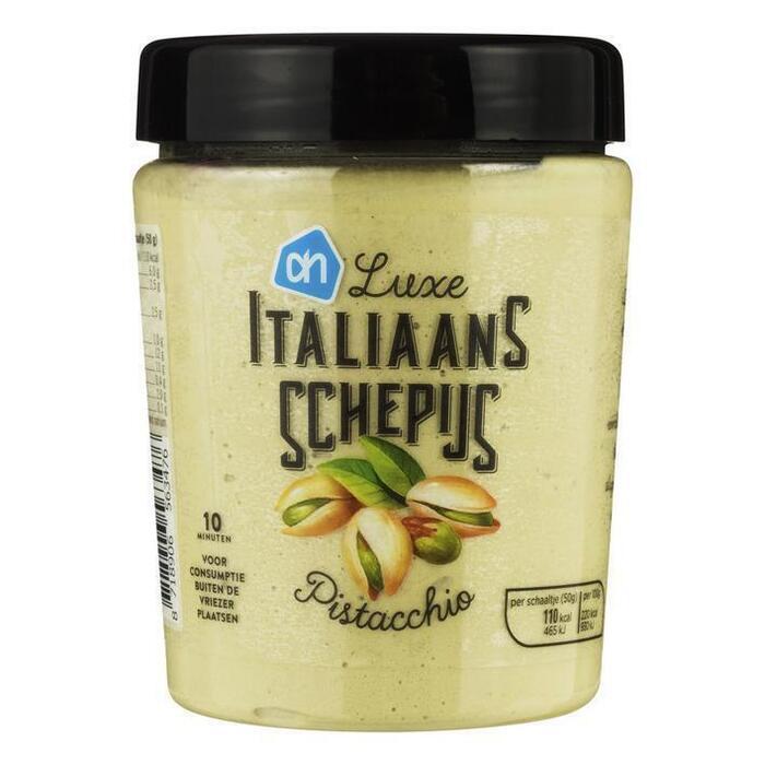 AH Italiaans schepijs pistacchio (0.5L)