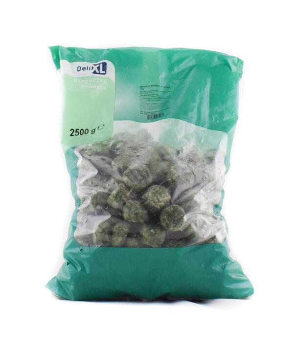 Spinazie gehakt portie (2.5kg)