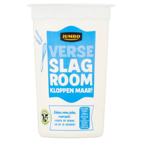 Jumbo Verse Slagroom 250 ml (250ml)