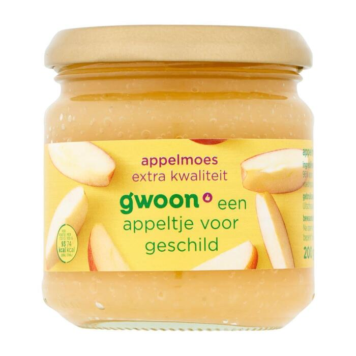 g'woon Appelmoes extra kwaliteit (200g)
