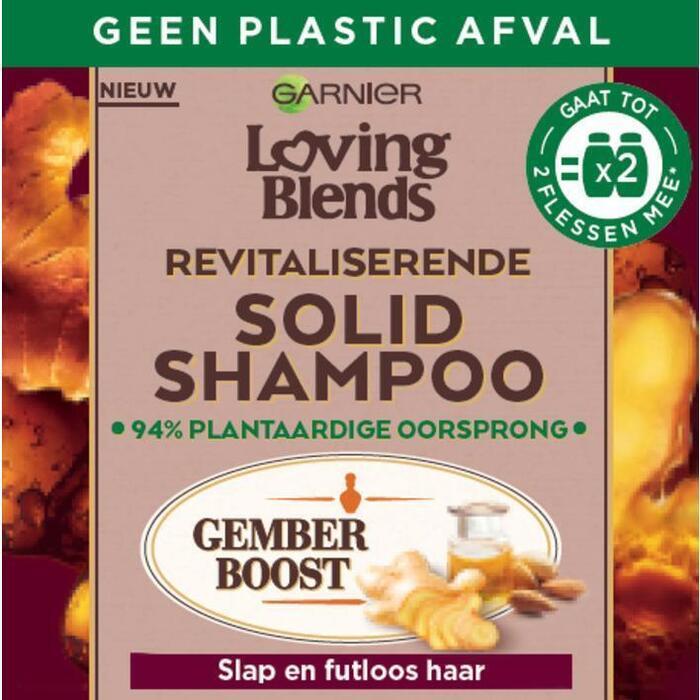 Loving Blends Gember shampoo bar (60g)