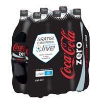 Coca-Cola Zero Sugar 6 x 1, 5L (6 × 1.5L)