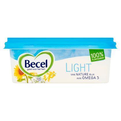 Becel Light voor op brood (kuipje, 250g)