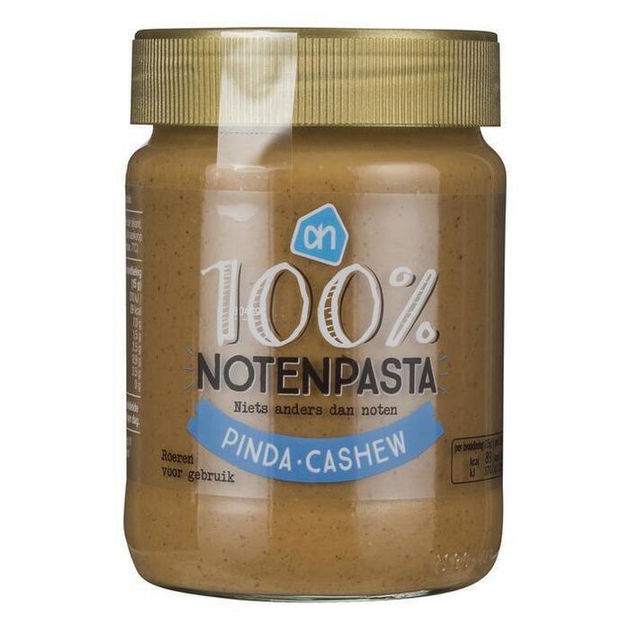 AH 100% Notenpasta pinda cashew (340g)