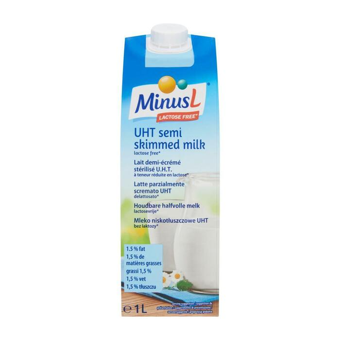 Houdbare Halfvolle Melk Lactosevrij (pak, 1L)