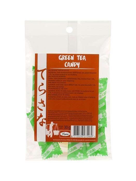 Groene thee snoepjes TerraSana 10st (10 st.)