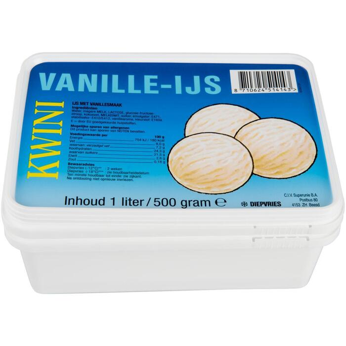 Vanille-Ijs (1L)
