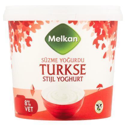 Yoghurt Turkse stijl 8% (1L)