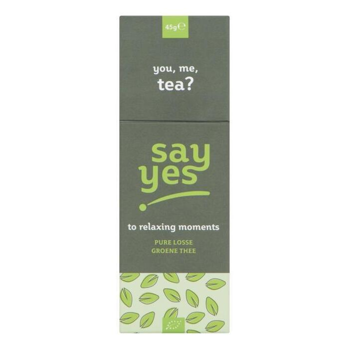 Say Yes Pure Losse Groene Thee 45 g (45g)