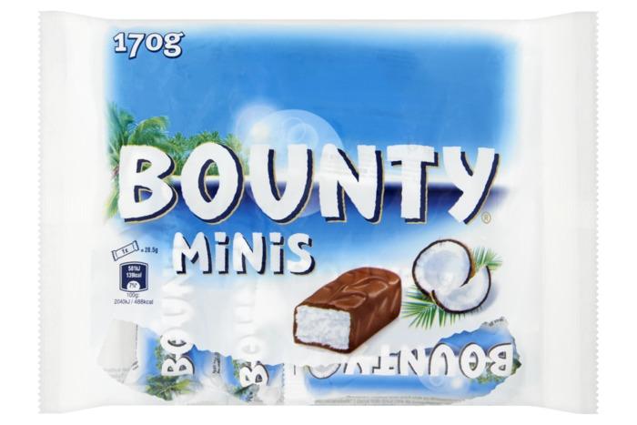 Bounty Mini's (170g)